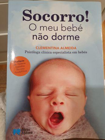 Socorro! O meu bebé não dorme