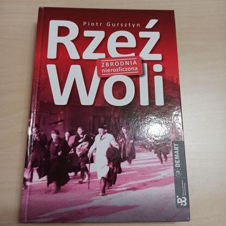 """Książka """"Rzeź Woli"""""""