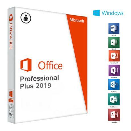 Microsoft Office 2019 Proffesional Plus(Win,Mac365) - dożywotnia