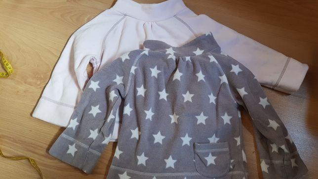 Dwie mieciutkie bluzy 98 cm Next. Stan idealny