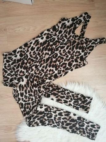 Macacão ginásio  leopardo