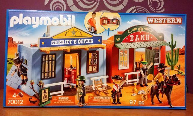 Playmobil 70012 Przenośne miasteczko westernowe nowość