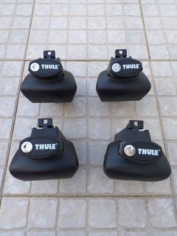 4 Pés de fixação THULE Rapid System 757 - Com chave anti-roubo