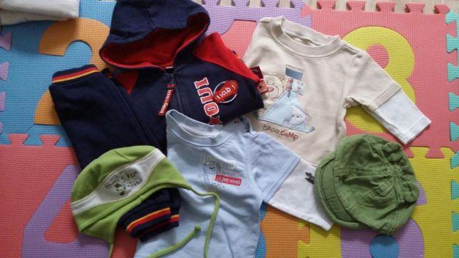 dwie bluzeczki i dres r.62