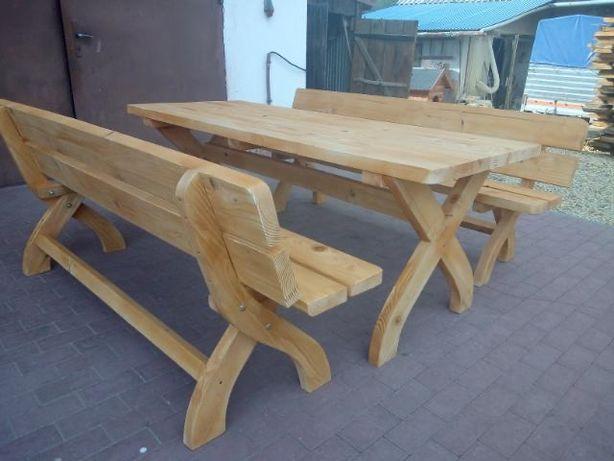 Zestaw ogrodowy / stół z ławkami do ogrodu