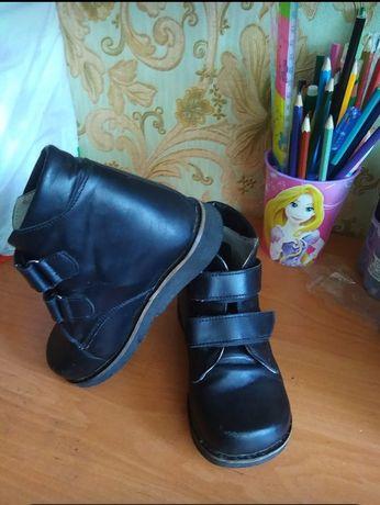 Фабричные ортопедические ботиночки