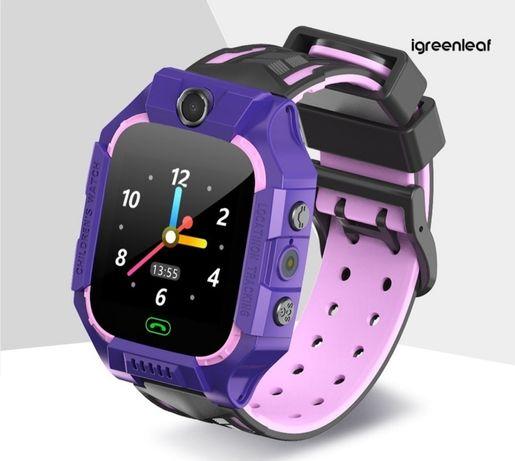 Дитячий Розумний Смарт Годинник -телефон з LBS Baby Smart Watch Е02