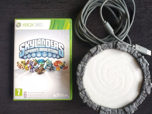 Skylanders Spyro's Adventure (XBOX 360) + Portal