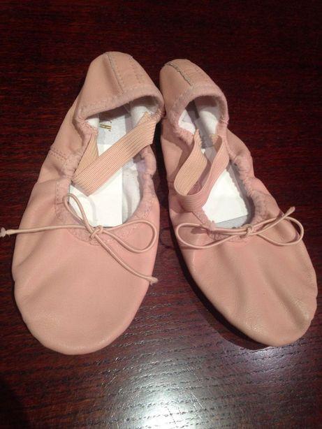 Балетки чешки BLOCH для балета,гимнастики,танцев,хореографии р.33 кожа