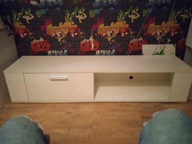 Sprzedam szafkę pod telewizor i półke.