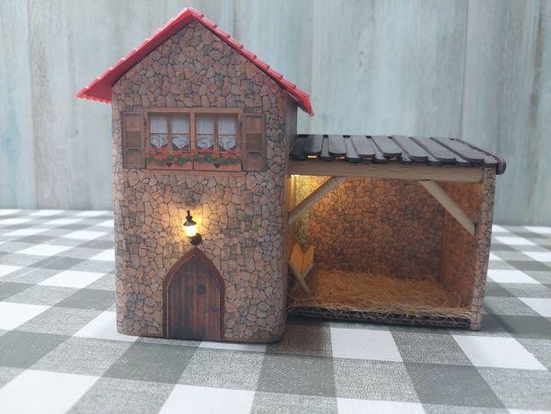 Casa decorativa para presépio