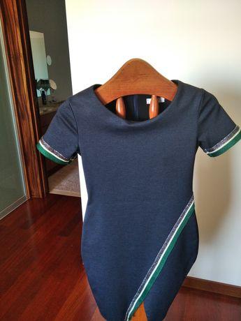 Conjunto vestido e blazer 40€
