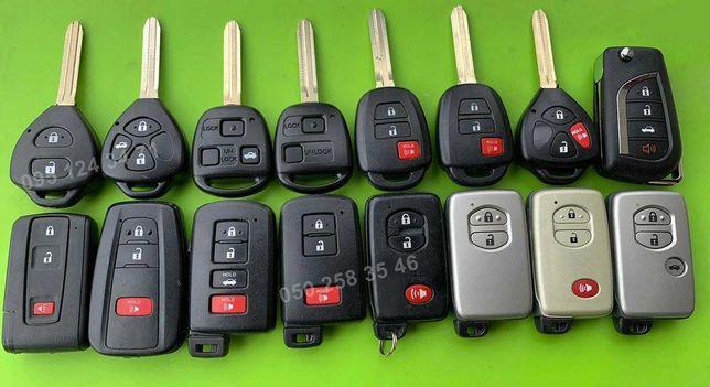 Ключ TOYOTA Avensis Camry Corolla Land Cruiser Prado RAV4