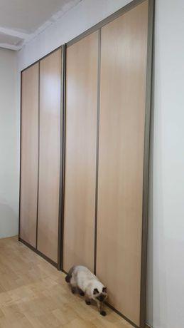 Drzwi szafy na wymiar, do wnęki, szafa przesuwna, komandor