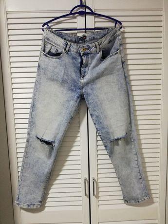 Spodnie jeansy, boyfriendy ze sklepu CROPP w rozmiarze 40