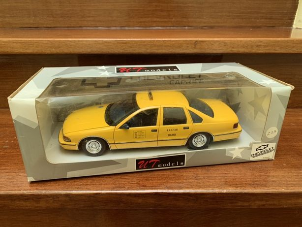 1:18 Cheverolet Caprice Taxi NYC UT Models
