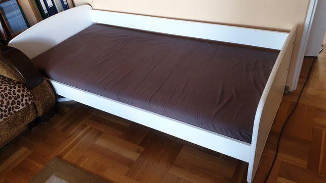 Łóżko dziecięce / młodzieżowe z materacem 180 x 80