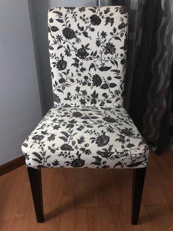 Cadeiras Ikea tecido
