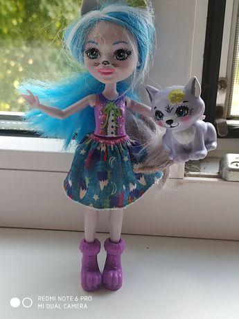 Кукла энченимал оригинал,энченимал волк с питомцем