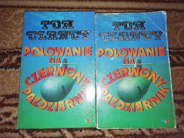 Polowanie na czerwony październik Tom Clancy książka