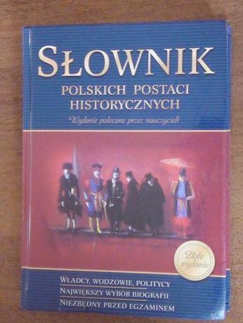 Książka - słownik polskich postaci historycznych