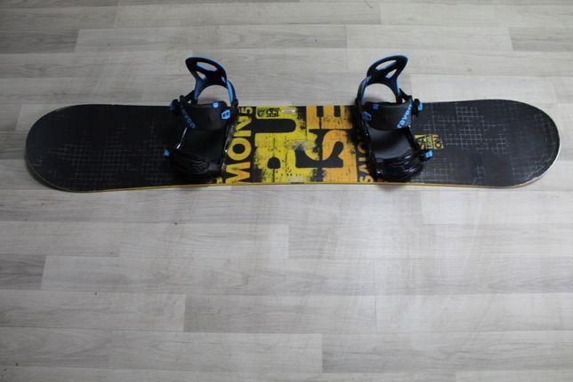 Deska Snowboard SALOMON PULSE 155 cm + Wiązania NOWE