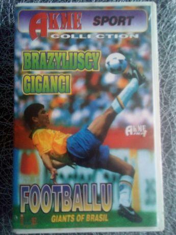 Brazylijscy Giganci Footballu - Kaseta VHS - Hit