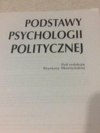 Podstawy psychologii politycznej K. Skarżyńska