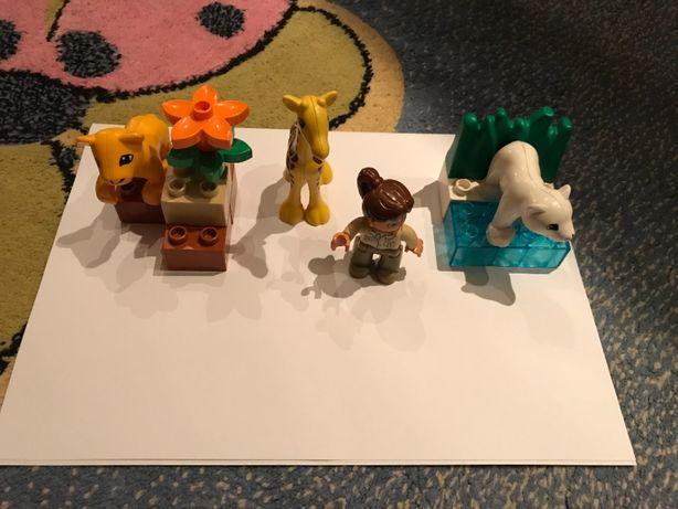 Lego duplo małe zoo klocki 4962