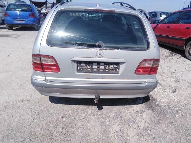 Mercedes E klasa w210 Zderzak tylny tył Wysyłka Kurierem