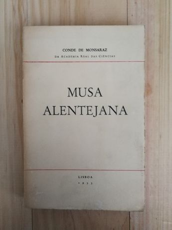 musa alentejana, conde de monsaraz, 1933