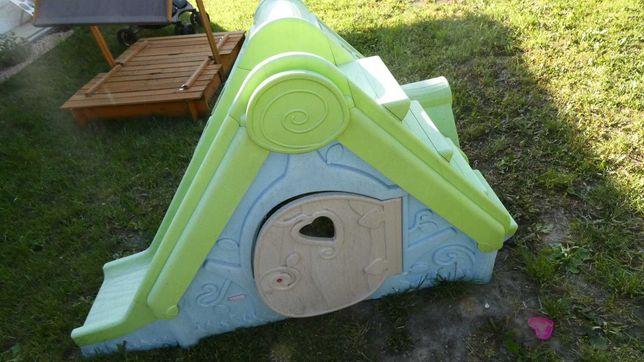 Domek ogrodowy dla dzieci ze zjeżdżalnią Funtivity Playhouse