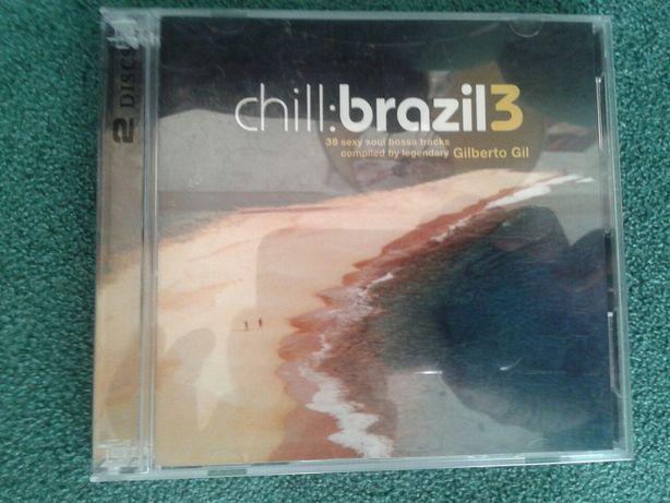 Chill brazil 3 płyty CD