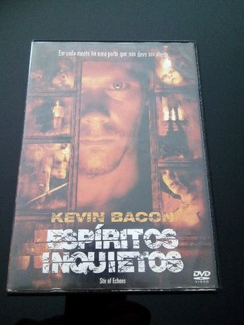 "DVD - ""Espíritos Inquietos"" com Kevin Bacon"