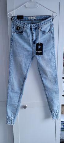 Spodnie jeans czachy r. 38