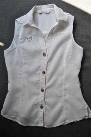 Bluzka Koszula rozpinana firmy Zara rozm L 40