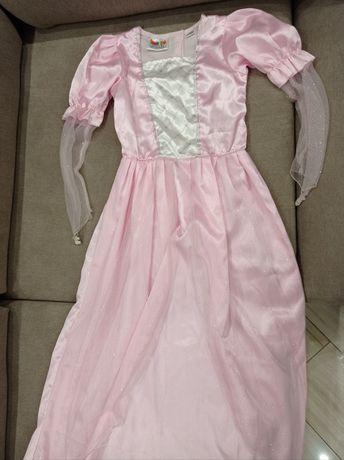 Платье принцессы Дисней 140р розовое