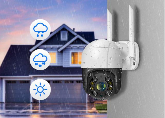 Купольная уличная камера видеонаблюдения Hiseeu WHD812 Wifi 1080P PTZ