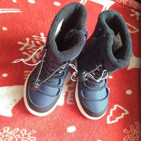 Nowe Buty zimowe dziecięce waterproof