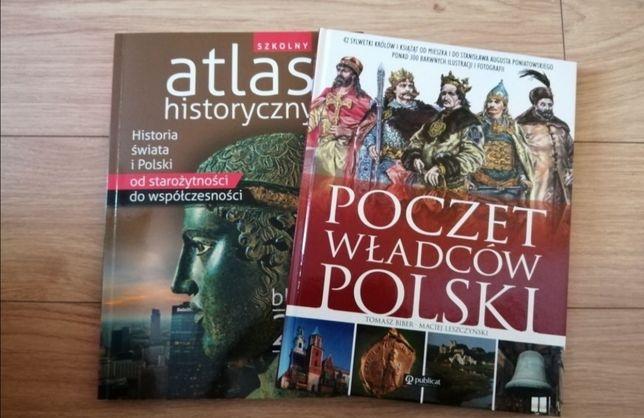 Poczet władców Polski i Atlas historyczny