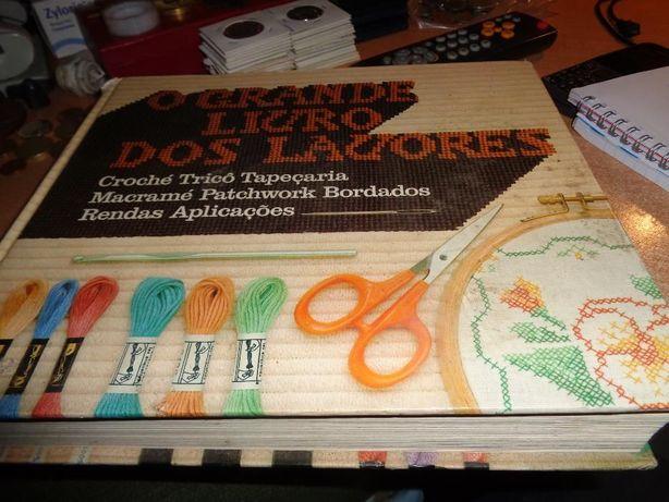 Livro O Grande Livro dos Lavores das Seleções 504 páginas Of.Portes