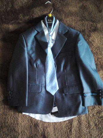 Komplet dziecięcy garnitur spodnie kamizelka
