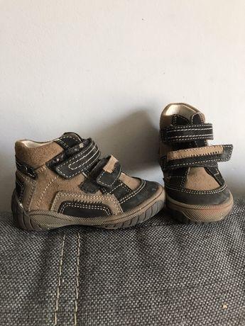 Skórzane buciki dla chłopca roz. 20