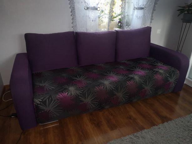 Kanapa sofa wysuwana wersalka