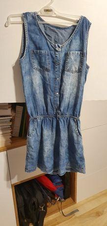 Tunika jeansowa rozmiar M
