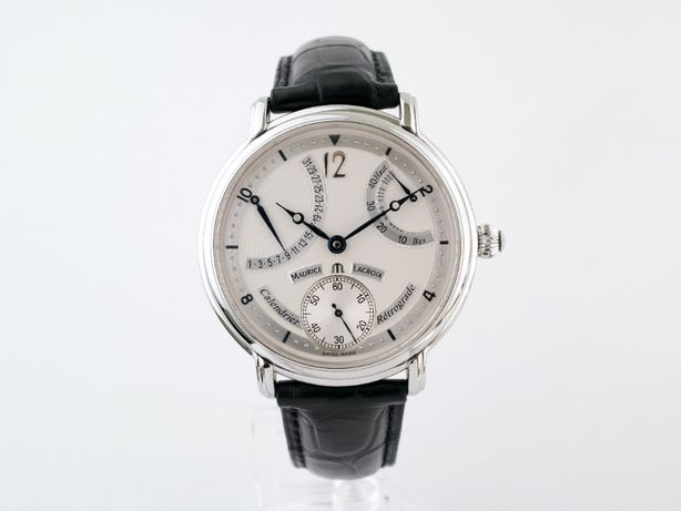 Мужские бу часы Maurice Lacroix Masterpiece Calendrier Retrograde 43 м