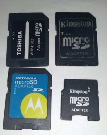 Micro adapter переходник для карт памяти Б.У