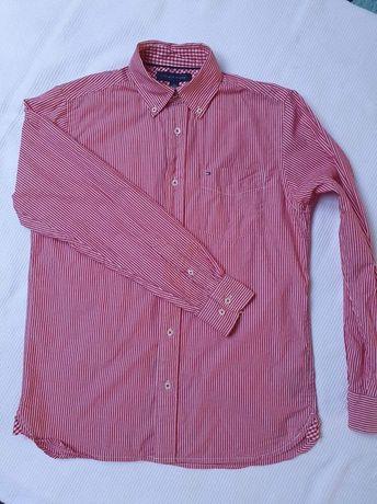 Tommy Hilfiger koszula męska paski XS