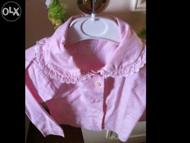 Camisa rosa T 2-3 Zippy com folho