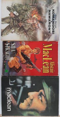 A. MacLean Siła Strachu, Komandosi z Nawarony, Partyzanci
